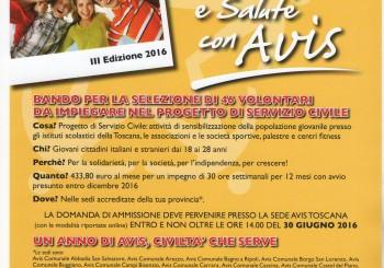 USCITA BANDO SERVIZIO CIVILE NAZIONALE 2016/2017